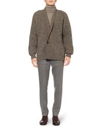Christophe Lemaire | Chunky Yak and Woolblend Cardigan | Lyst