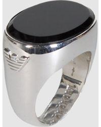 Emporio Armani Ring - Lyst