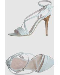 Fabi High-Heeled Sandals - Lyst