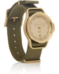 Givenchy | Seventeen Watch in Gold Pvdplated Stainless Steel | Lyst