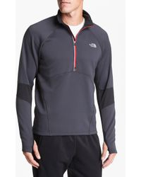 The North Face Momentum Half Zip Pullover - Lyst
