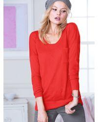 Victoria's Secret The Moto Sweater - Lyst