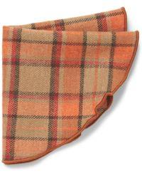 Alexander Olch - Justen Plaid Wool Pocket Round - Lyst