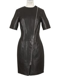 Alexander Wang  Lamb Leather Dress - Lyst