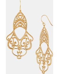 Argento Vivo Double Drop Earrings - Lyst