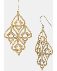 Argento Vivo Small Chandelier Earrings - Lyst