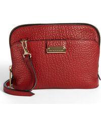 Burberry 'Small Harrogate' Leather Crossbody Bag - Lyst