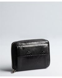 Cartier Leather Zip Wallet - Lyst