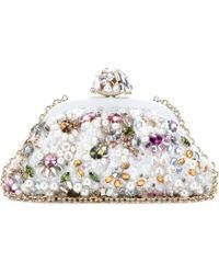 Dolce & Gabbana Embellished Clutch - Lyst