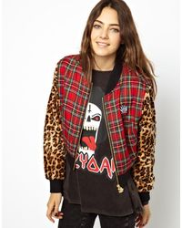 Lazy Oaf You Tart Bomber Jacket - Lyst