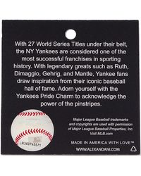 ALEX AND ANI - New York Yankees Cap Logo Bangle - Lyst