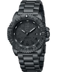 Luminox - Bo Mens Navy Seal Stainless Steel Strap Watch - Lyst