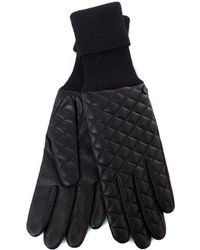 Rag & Bone Rib Quilt Gloves - Lyst