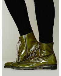 Bed Stu - Hi Shine Lace Boot - Lyst