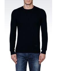Emporio Armani Sweater In Cashmere - Lyst