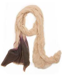 Giada Forte - Tiedye Wool Scarf - Lyst