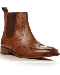 Roland Cartier - Montagu Brogue Chelsea Boot - Lyst