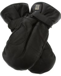Dolce & Gabbana - Calf Leather Gloves - Lyst