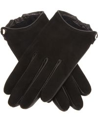 Givenchy Two Tone Gloves - Lyst