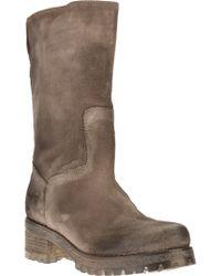 Jfk Mid Calf Length Boot - Lyst