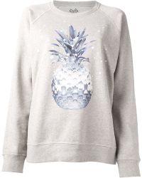 Lala Berlin - Space Pineapple Sweatshirt - Lyst