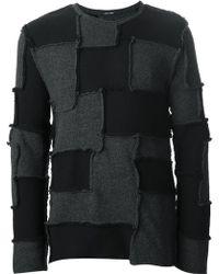 Lumen Et Umbra - Patchwork Sweater - Lyst