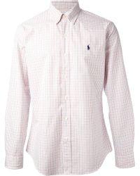 Polo Ralph Lauren Check Shirt - Lyst
