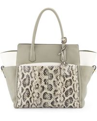 Reed Krakoff Atlantique Soft Leather Anaconda Tote Bag - Lyst