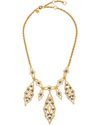 Alexis Bittar Elements Rocky Vine Bib Necklace gold - Lyst