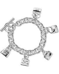 Hermès Charm Bracelet - Lyst