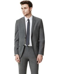 Theory Wellar Hc Suit Jacket in New Tailor Wool Bistretch - Lyst