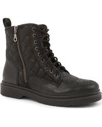 Carvela Kurt Geiger Simba Leather Ankle Boots - Lyst