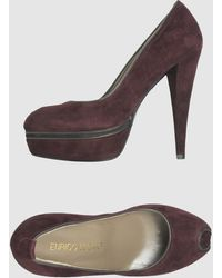 Enrico Lugani Pumps With Open Toe - Lyst