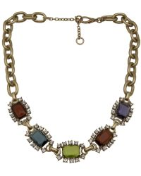 Gerard Yosca - Square Jewels Necklace - Lyst