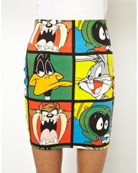 Lazy Oaf - X Looney Tunes Looney Gang Skirt - Lyst