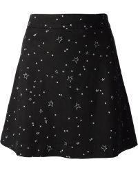 Lulu & Co - Star Print Skirt - Lyst