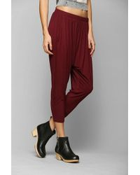 Staring At Stars - Cropped Knit Harem Pant - Lyst