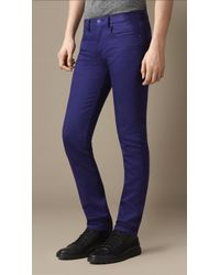 Burberry Shoreditch Piece Dyed Skinny Fit Jeans - Lyst