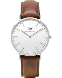 Daniel Wellington Classic St Andrews Watch brown - Lyst
