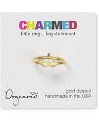 Dogeared - Infinity Ring - Lyst
