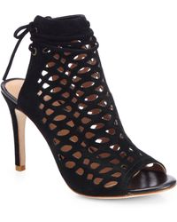 Joie Laser-Cut Clayton Sandals - Lyst