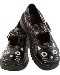 ModCloth Here and Meow Shoe in Floral - Lyst