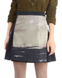 ModCloth Maritime After Time Skirt - Lyst