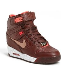 Nike Air Revolution Sky Hi Hidden Wedge Sneaker - Lyst