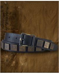 Denim & Supply Ralph Lauren - Square Studded Leather Belt - Lyst