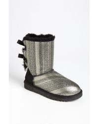 Ugg 'Bailey Bow Bling' Boot - Lyst