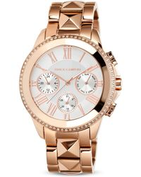 Vince Camuto - Crystal Chronograph Watch, 42Mm - Lyst