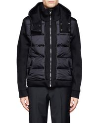 Givenchy Hooded Padded Jacket - Lyst