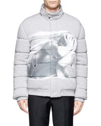 Givenchy Photo Printed Padded Cotton Jacket - Lyst