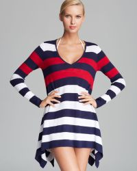 Tommy Bahama - Colour Block Hilow Cover Up Jumper - Lyst